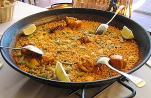 Menú de arroz marinero en Rte. Aizkorri