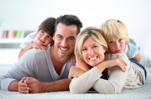 Sesión fotográfica en familia