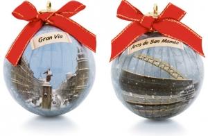 9 bolas de Navidad de Bizkaia