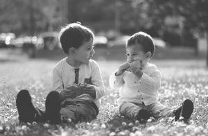 Sesión de fotos infantil exterior o a domicilio