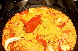 Menú arroz con bogavante en Plentzia