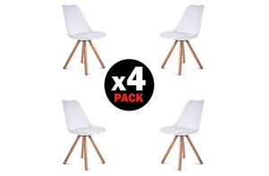 Pack de 4 sillas Freya