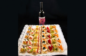 Menú catering de lujo para celebraciones