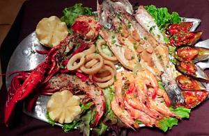 Parrillada de Marisco y pescado en Lekeitio