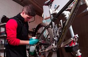 Mantenimiento experto de bicicleta