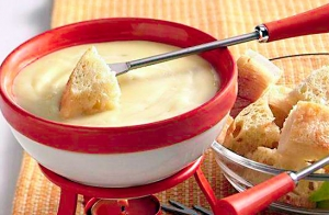 Menú fondue para 2 ó 4 personas