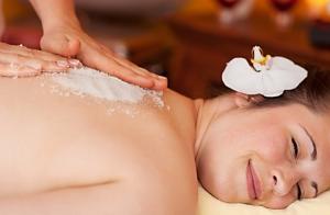 Peeling, masaje y/o chocolaterapia