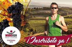 Inscríbete en Rioja Alavesa WineRun 10 km