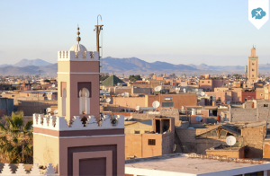 Escapada de 3días,2 noches + vuelo a Marrakech