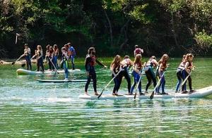 Stand Up Paddle y Big SUP en Sobrón
