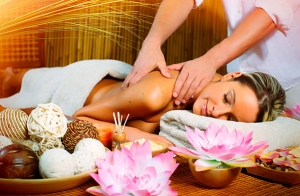 Trufaterapia o peeling corporal + masaje nutritivo
