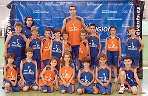 Ultimas plazas campus basket Prigioni